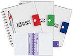 Spiral Notebooks With Dart Pen